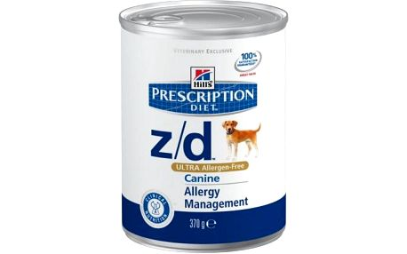 Hill's PD Canine Z/D Ultra Alergen Free 370 g