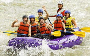 Jednodenní rafting v divokých peřejích Jizery