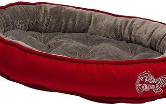 Komfortní kočičí pelíšek ROGZ SNUG POD Tango Fishbone 40 x 32 x 8cm