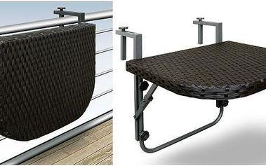Závěsný stolek na balkón