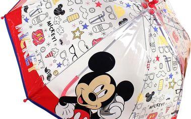Disney Brand Dětský deštník Mickey Mouse