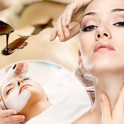 Relaxační balíček v délce 120 min! Kosmetické ošetření pleti + čokoládová masáž + bonusy! Kosmetika a lymfodrenáž!