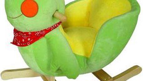 Oblíbené dětské houpací křeslo BabyGO žabička