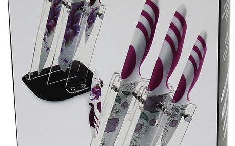 Sada 4 nožů Everrich fialová