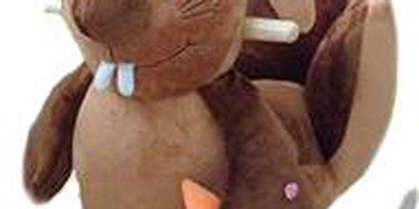 BabyGO Houpací křeslo - králíček