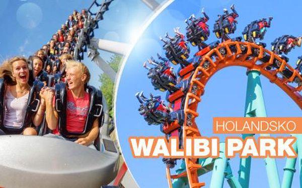 Holandsko, zábavní park Walibi Park - 3denní zájezd pro 1 osobu včetně dopravy a vstupu na všechny atrakce!
