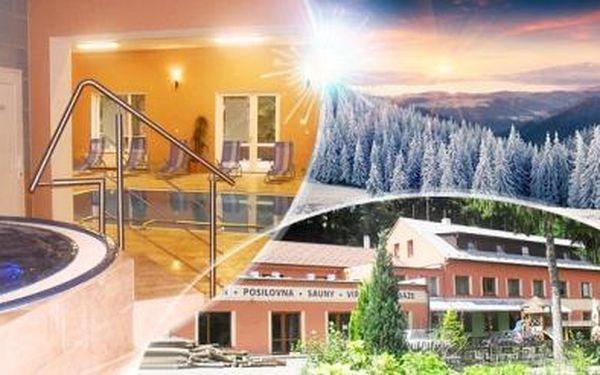 Bílé Karpaty na 3 až 5 dní pro 2 osoby s polopenzí a wellness neomezeně: bazén, vířivka, sauna a fitness!