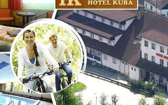 Jarní pobyt na Šumavě v hotelu Kuba pro dva na 3 dny!! Polopenze, odpočinek v bazénu.