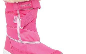 Dívčí zimní sněhule Regatta RKF389 SNOWCADET II Jem/White 29