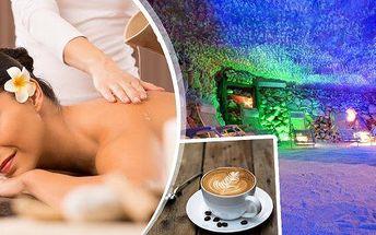Relaxační balíček pro ženy, čeká vás 40 min. masáže zad a šíje a pobyt 45 min. v Pravé Solné jeskyni v Praze 7, kde si můžete vychutnat lahodný šálek čaje či kávy jako bonus k balíčku. Nechte se namasírovat šikovnou masérkou a pak si užijte si odpočinek a