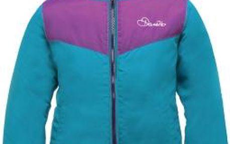 Dívčí zimní oboustranná bunda Dare2B DGN300 CONSORT REV Jkt Blu 11-12y