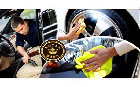 Kompletní péče o Váš vůz! Ruční mytí karoserie + hloubkové čištění interiéru tepovacím strojem nebo ručně v Brně.
