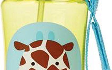 SKIP HOP Zoo lahvička s brčkem - žirafa