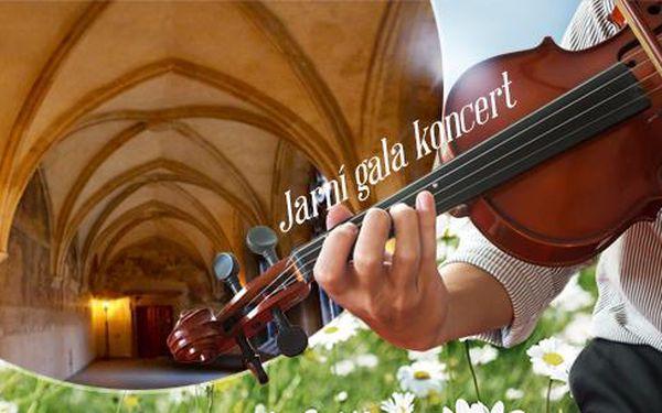 Jarní gala koncert 19.4.2016 od 19 hodin v Emauzském klášteře! Harfa, flétna, housle! Smetana, Dvořák, Mozart, aj.
