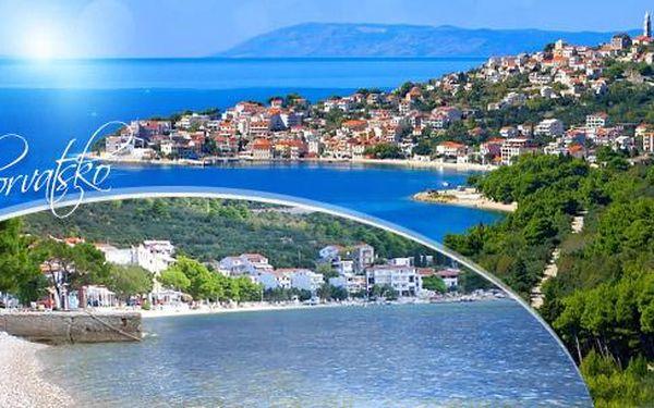 Letní Chorvatsko - Makarská Riviéra! 8 dní pro 1 osobu v letovisku Igrane s možností dokoupení dopravy a stravy!