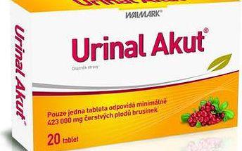 Walmark Urinal Akut 20 tablet - první pomoc při akutních obtížích