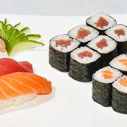 Báječné sushi kombinace v Jiu Zhou