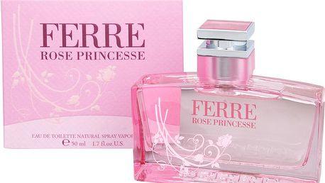Gianfranco Ferre Rose Princesse - toaletní voda s rozprašovačem - SLEVA - bez celofánu 50 ml