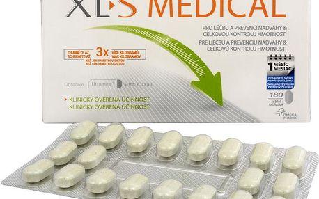 XLS Medical 180 tablet pro léčbu a prevenci nadváhy