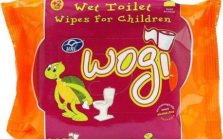 WOGI Vlhčený toaletní papír pro děti náhradní náplň (60 ks)