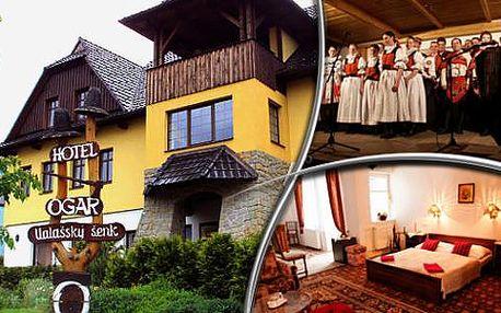 Lázeňské Luhačovice s ubytováním a polopenzí ve Valašském šenku Ogar*** s platností až do 31. 5. 2016