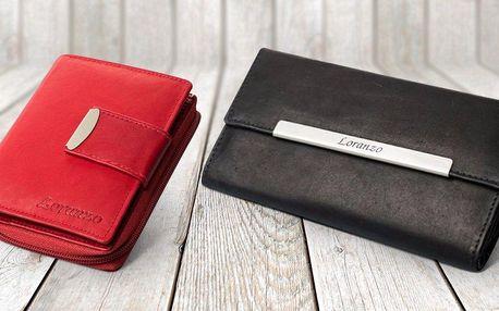 Dámské kožené peněženky Loranzo