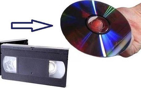 Převod videokazet a ostatních typů kazet na DVD. Osobní předání v Brně i doručení poštou!