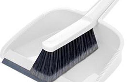 Tescoma smetáček s lopatkou CLEAN KIT, bílá