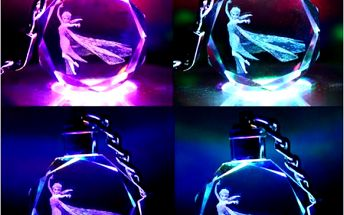 Přívěsek na klíče Elsa, Anna nebo Olaf