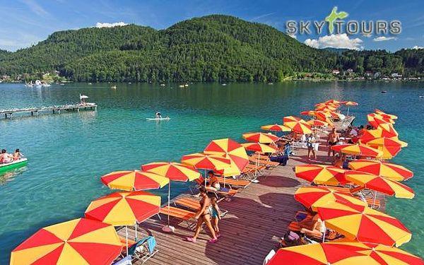 Rakousko u jezera s plnou penzí
