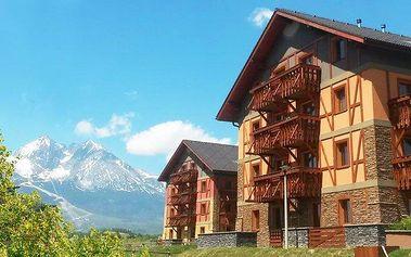 2denní pobyt pro 2 v apartmánech Tatragolf Mountain Resort ve Vysokých Tatrách