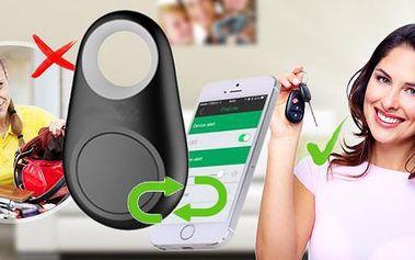 Bluetooth Key Finder s GPS lokalizací! Propojení mobilu s daným přívěškem pro okamžité nalezení hledané věci!