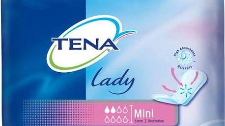 TENA Lady Mini inkontinenční vložky 20 kusů