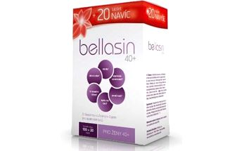 Renuto Bellasin 40+ 100 tablet pro účinné hubnutí žen po čtyřicítce