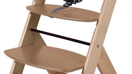 BabyGO Rostoucí židle, Hnědá