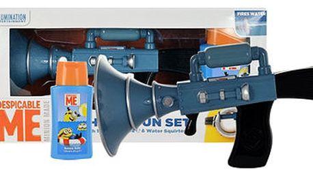 Minions Bubble Bath pěna do koupele dárková sada U - pěna do koupele 125 ml + vodní pistole