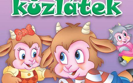 Nakladatelství SUN Knížky pro mrňousky - VLK A SEDM KŮZLÁTEK