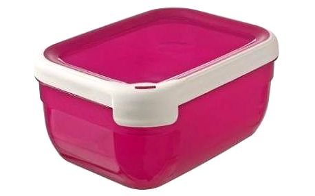 Plastová dóza GRAND CHEF dóza -1,8 l obdélník- růžová CURVER