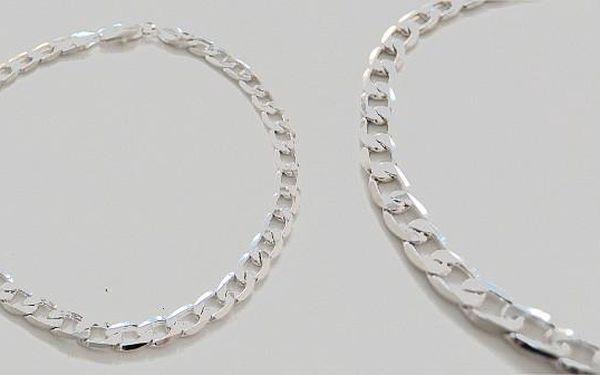 Pánský elegantní řetěz na krk - vsaďte na jistotu a zvolte dárek, který zaručeně potěší každého muže!