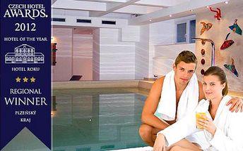 Wellness pobyt na Šumavě s celoročním koupáním v Hotelu Central *** s polopenzí a procedurami
