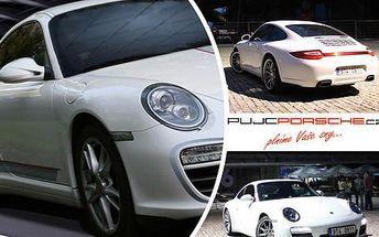 Zážitková jízda v Porsche Carrera 911 jako řidič nebo jako spolujezdec