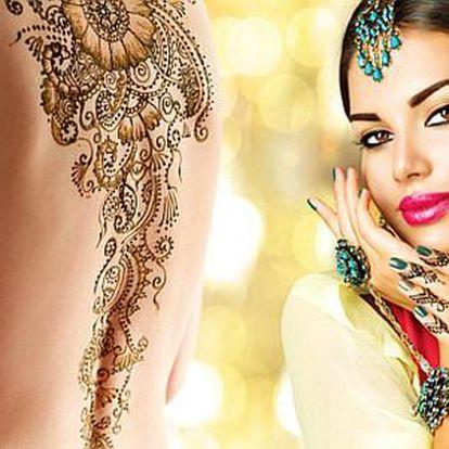 Orientální tetování pro ženy s možností vlastního návrhu
