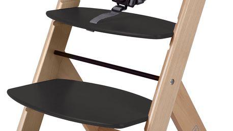 BabyGO Rostoucí židle, Černá