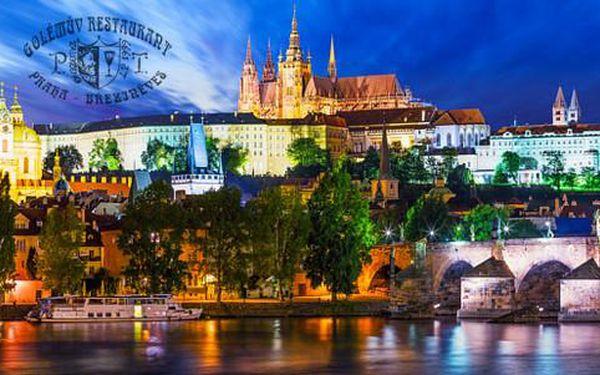 Romantika pro dva v oceněném Golden Golem Hotelu*** na okraji Prahy