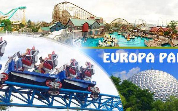 Německo - největší zábavní park Europa Park! Zájezd pro 1 osobu na 3 dny včetně dopravy a vstupenky, 3.-5.6.2016!
