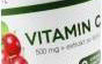 Vieste Vitamin C 500 mg s extraktem ze šípků 30 tablet