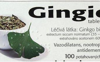 GINGIO TABLETY 100X40MG Potahované tablety