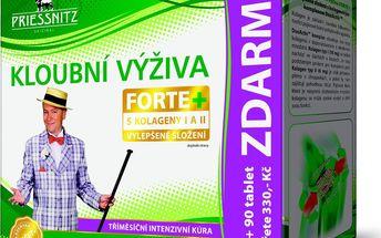 Priessnitz Kloubní výživa Forte + kolageny 180 + 90 tablet