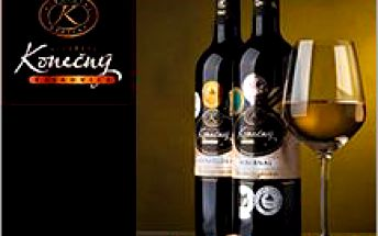 Přinášíme sadu luxusních vín z Vinařství Konečný se slevou 36%! Ochutnejte vína ze skvělého ročníku 2015!