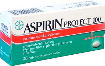 ASPIRIN PROTECT 100 28X100MG Tablety